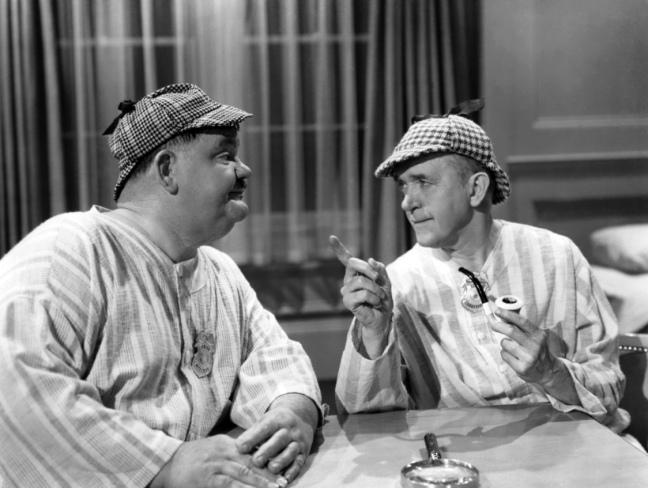 Detectives Laurel & Hardy Big Noise
